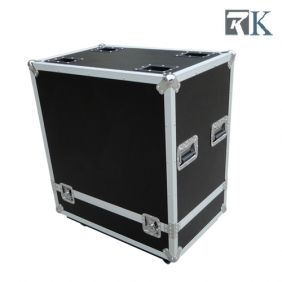 Speaker cases - RKNexps15 is Full ATA touring spec flight case with two being braked