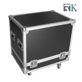 Speaker cases - RKSpker1 is Full ATA touring spec flight case with two being braked