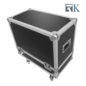 Speaker cases - RKSpker5 is Full ATA touring spec flight case with two being braked