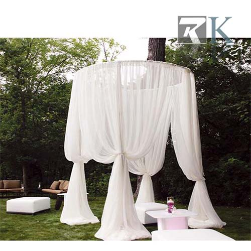 Wedding round tent pipe drape system_RK-RC0404X4