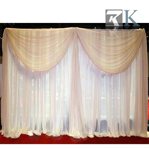 pipe and drape event backdrop stand