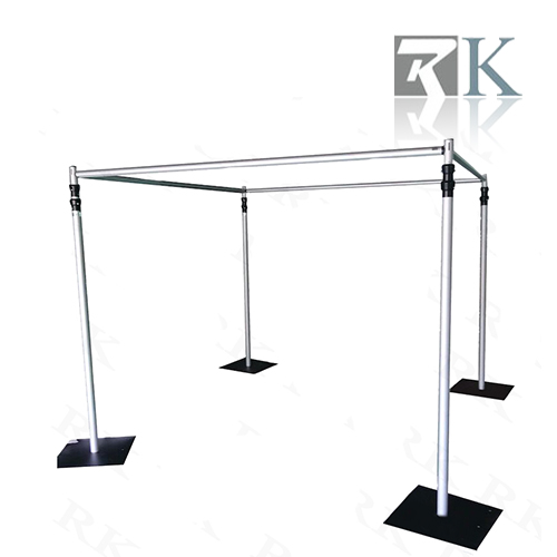 Square tent pipe and drape for wedding decoration_RK-NT6X10