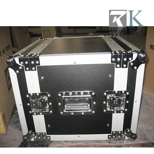 "8U 14"" body deep Plywood DJ Rack Case"